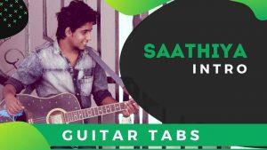 Saathiya Guitar Intro Tabs For Beginners